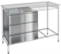 Ящики для открытых столов