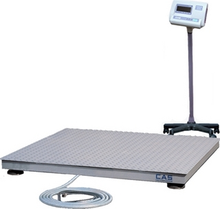 Платформенные весы CAS R-600