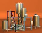 Оборудование для производства молока сгущенного с сахаром из цельного молока по ГОСТ 1000 литров в смену