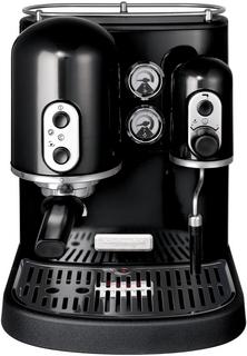 Эспрессо кофеварка KitchenAid 5KES100EOB черная