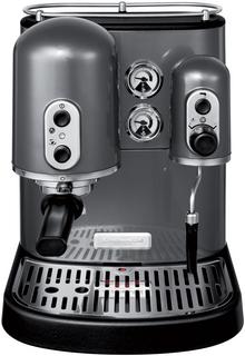 Эспрессо кофеварка KitchenAid 5KES100EPM серый металлик