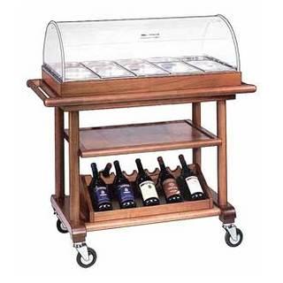 Стол-тележка сервировочная Metalcarrelli 6102