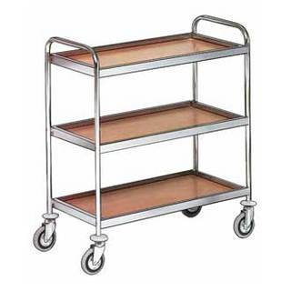 Стол-тележка сервировочная Metalcarrelli 4002