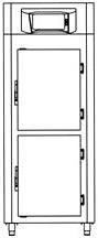 Шкаф холодильный Castel MAC MP 1