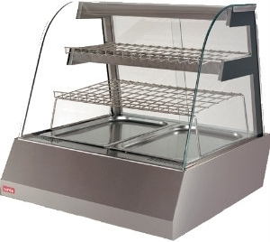 Витрина холодильная настольная UNIS Kentucky Cold 2GN1/1 High