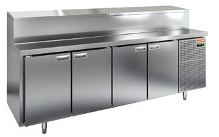 Стол охлаждаемый для пиццы HICOLD PZ1-1111/GN (1/3)