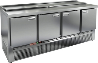 Стол охлаждаемый для салатов HICOLD SLE1-1111GN (крышка)