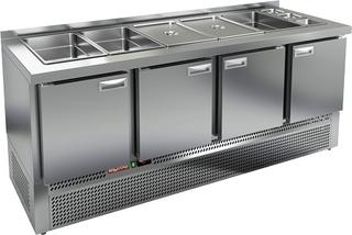 Стол охлаждаемый для салатов HICOLD SLE3-1111GN (без крышки)
