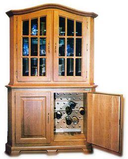 Винный шкаф OAK 80W-lux2t