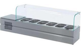 Витрина холодильная настольная ATESY Болоньезе-6
