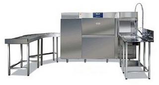 Тоннельная посудомоечная машина Silanos T1650 DE СПРАВА-НАЛЕВО