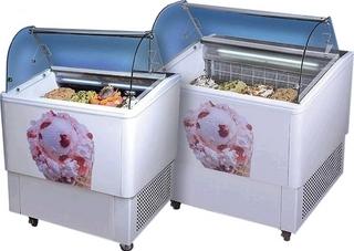 Витрина для мороженого Koreco Smart 8