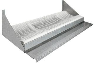 Полка настенная для сушки посуды Техно-ТТ ПН-319/900