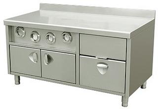 Закрытый стол-прилавок Kocateq DH150