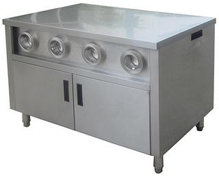 Закрытый стол-прилавок Kocateq DH110