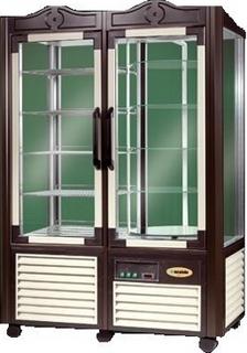 Витрина кондитерская Scaiola ERG 800 (темно-коричневый)