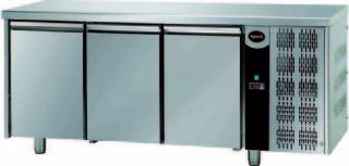 Стол с морозильным шкафом с 3-мя дверцами Apach AFM 03BT