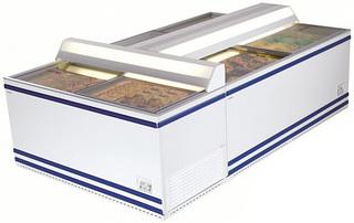 Ларь морозильный AHT Salzburg 83/210, сер. бамп.