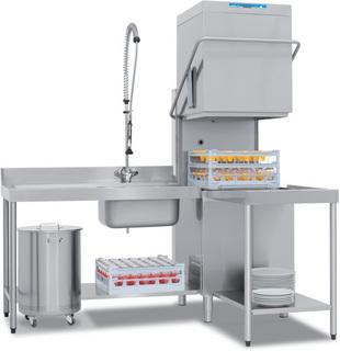 Купольная посудомоечная машина Elettrobar RIVER 382