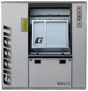 Барьерная стиральная машина Girbau BW 630 (пар)