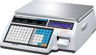 Торговые электронные весы самообслуживания CAS CL5000J-6 IB TCP-IP
