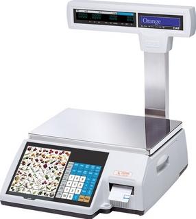 Торговые электронные весы самообслуживания CAS CL5000J-30 IP TCP-IP