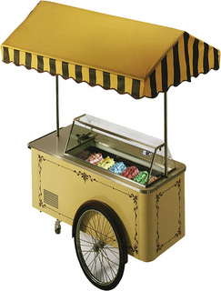 Тележка для мороженого Isa Carrettino