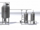 Оборудование для производства сгущенного молока с сахаром по ТУ 1000 кг/смена