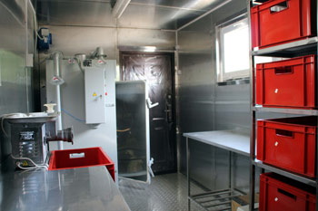 Модульный цех по переработке мяса от 200 кг в смену