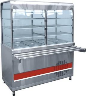 Прилавок-витрина холодильный Abat ПВВ-70КМ-С-03-НШ