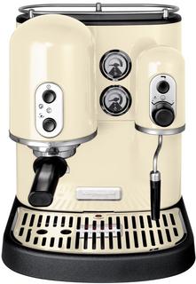Эспрессо кофеварка KitchenAid 5KES100EAC кремовая