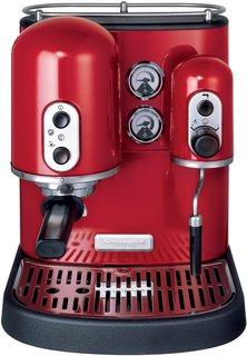 Эспрессо кофеварка KitchenAid 5KES100EER красная