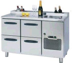 Стол охлаждаемый Hackman (4321072) BA-1200-BO2S-BO2S-MPL