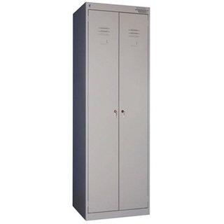 Шкаф металлический сборный для одежды Премьер ШРК (1850) 22-800