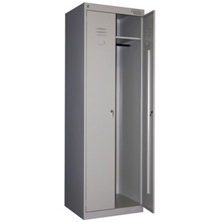 Шкаф металлический сборный для одежды Премьер ШРК (1850) 22-600