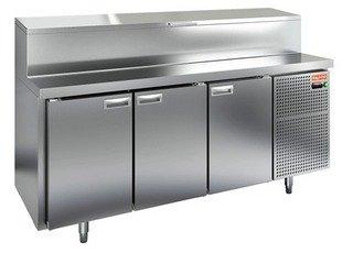 Стол охлаждаемый для пиццы HICOLD PZ1-111/GN (1/3)