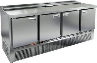 Стол охлаждаемый для салатов HICOLD SLE2-1111GN (крышка)