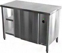 Тепловой стол КАМИК-компакт СТ/К 1500*600*850 сквозной