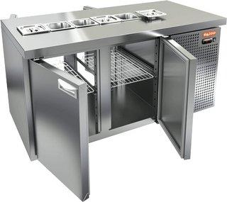 Стол охлаждаемый для салатов HICOLD SL2T-11/GN