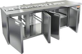 Стол охлаждаемый для салатов HICOLD SL2T-1111/GN