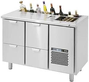 Стол холодильный для бармена Skycold B2S-2-2-C