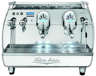 Кофемашина Victoria Arduino ADONIS+ 2G Vic. red