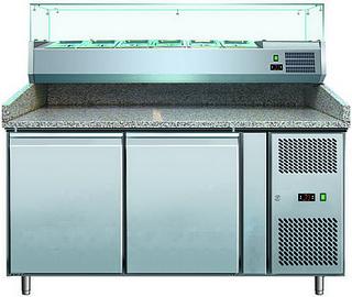 Холодильный стол для пиццы GASTRORAG PZ 2600 TN/VRX 1500/380
