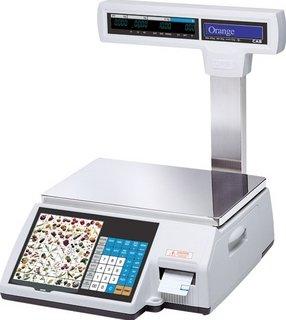 Торговые электронные весы самообслуживания CAS CL5000J-15 IP TCP-IP