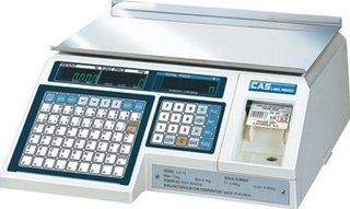 Электронные торговые весы CAS LP-30 (v1.6)