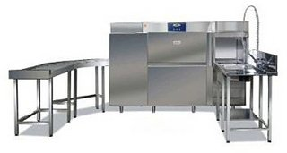 Тоннельная посудомоечная машина Silanos T1650 SE СЛЕВА-НАПРАВО